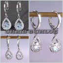 Anting 2CTW Center Round Cut Lab Grown Diamond